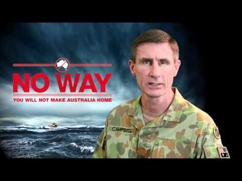 Australian government's anti-immigrant poster shocks planet (VIDEO) - IrishCentral.com