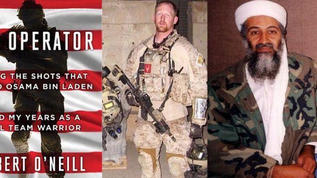 自爆親手擊斃恐怖大亨拉登的美國前海豹突擊隊第六分隊成員奧尼爾(Robert O'Neill)出版回憶...