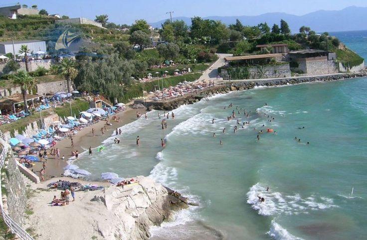 ladies beach in kusadasi turkey