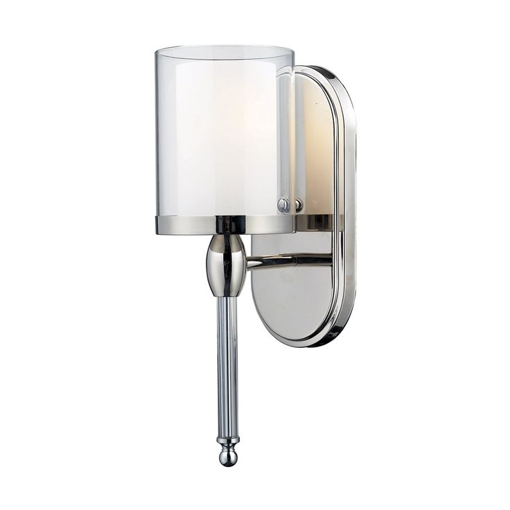 Best Lights Images On Pinterest Appliques Wall Appliques And - Chrome bathroom sconce lights