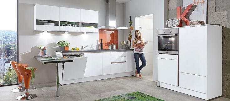 Einbauküche mit griffloser front haus der küchen