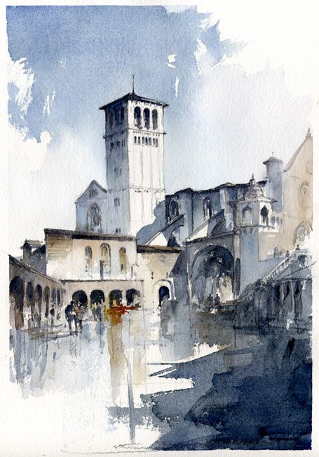 Assisi-by-Tony-Belobrajdic by artiscon on DeviantArt