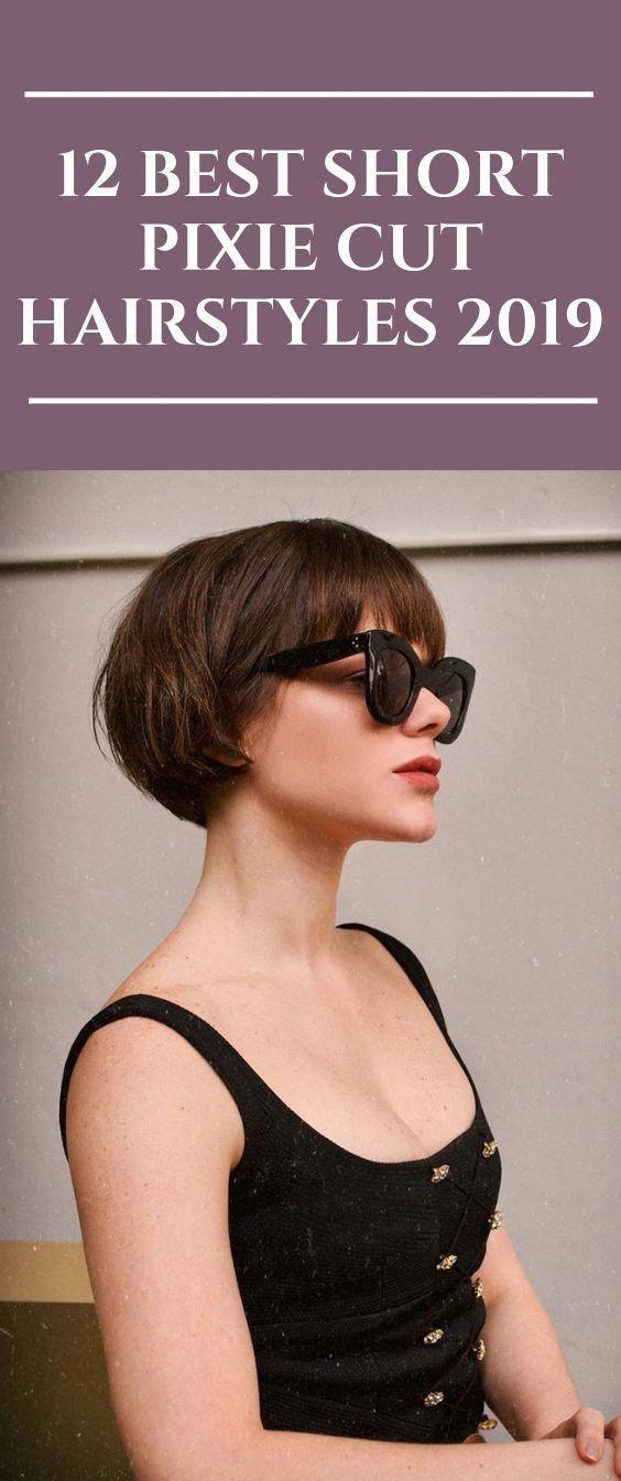 12 Best Short Pixie Cut Frisuren 2020