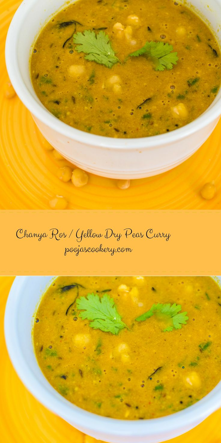 Today I am going to show you Authentic Goan(Indian) Vegetarian Chana curry or vatana(Yellow dry peas) curry . We call it chanya ross and this is mostly prepared during holy occasions or on vegetarian days where no onions , no garlic is allowed. Actually, I am not so good at vegetarian recipes, but my Mother-in-law is very good at it , so I asked her the authentic recipe of this curry , since I am just tired of eating daal, rice on Mondays. The recipe is very simple and quick to prepare…