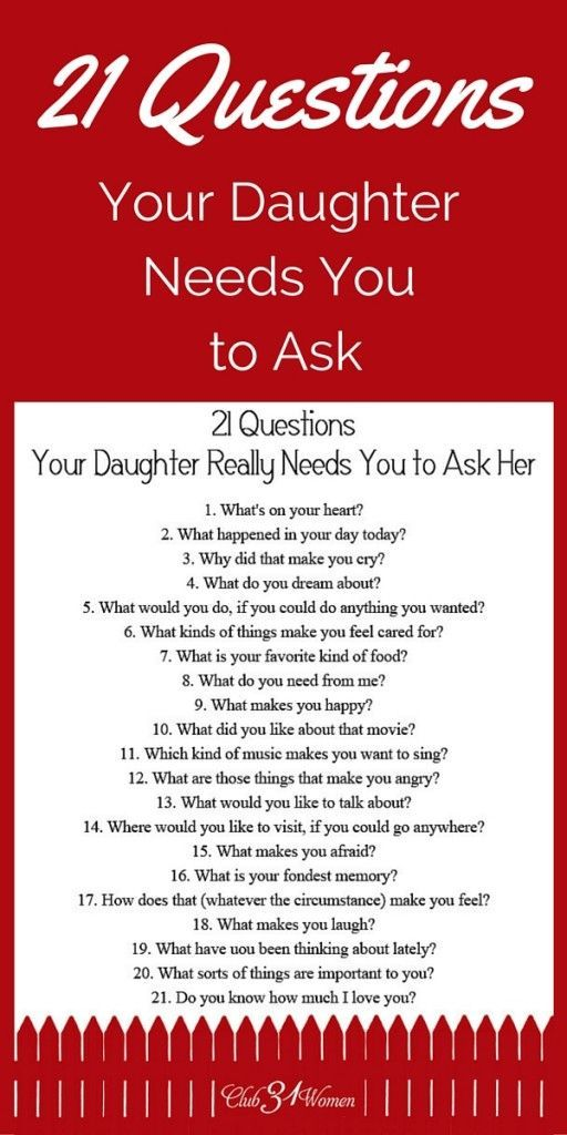 Online dating questions to ask her