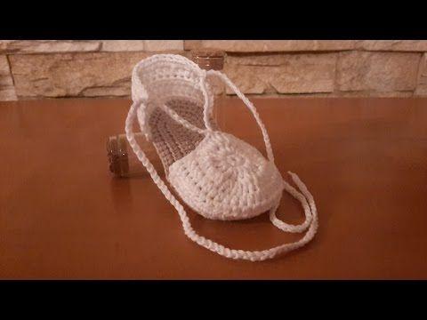 Como hacer alpargatas o esparteñas de bebe paso a paso (PARTE 2) - YouTube