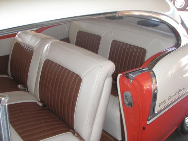 35 Best Images About 55 Chevy On Pinterest Upholstery