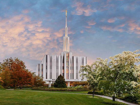 Seattle Temple By Robert A Boyd Seattle Washington