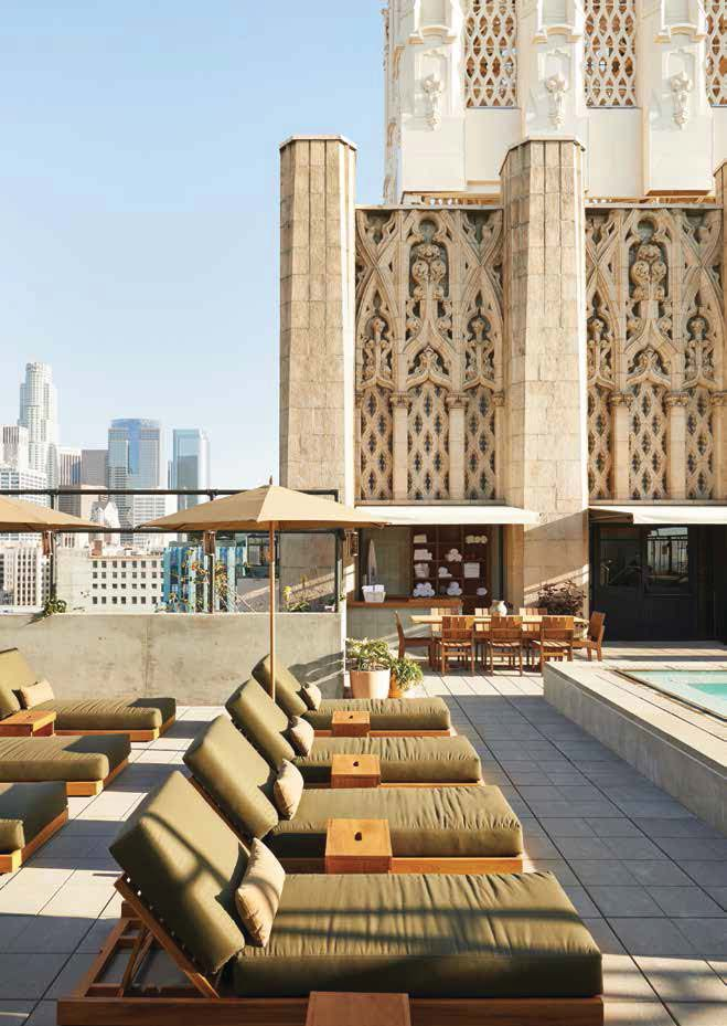 Ace Hotel Downtown La Located In The Fashion District California Pinterest
