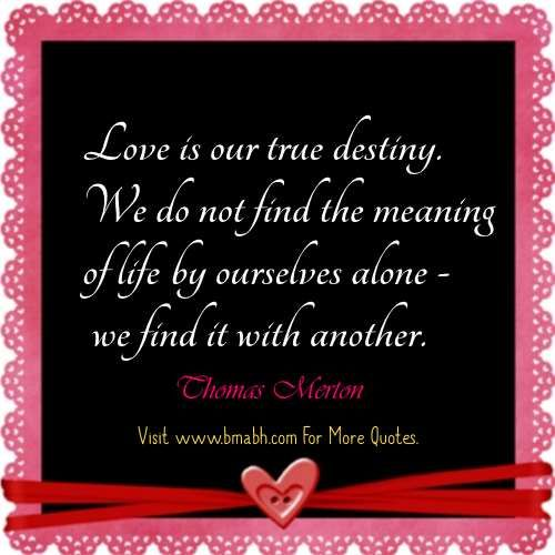 Quotes About True Love And Fate: 25+ Best Valentines Quotes For Him On Pinterest