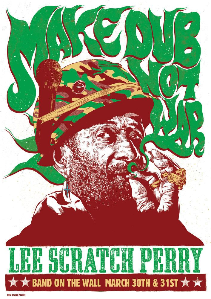 Lee Scratch Perry - Make Dub Not War - New Analog