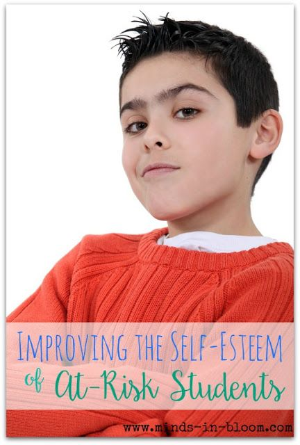 self esteem and student success In the workshops i offer teachers about fostering student self-esteem, i pose the following questions: do you believe you have a long-lasting impact on the lives of your students.