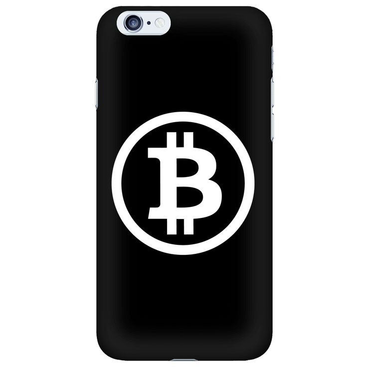 Bitcoin iPhone 6 case White and Black