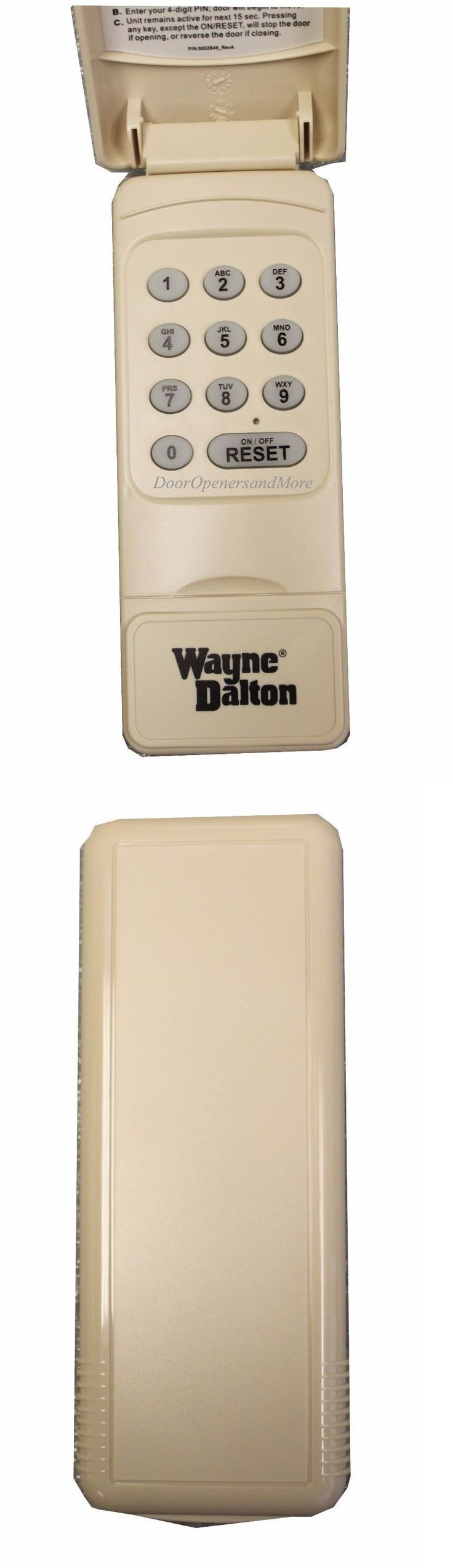 Garage Door Remotes 85899: Wayne Dalton 327607 288830 Wireless Keypad 372 Mhz Compatible W 327310 And 300643 -> BUY IT NOW ONLY: $49.95 on eBay!