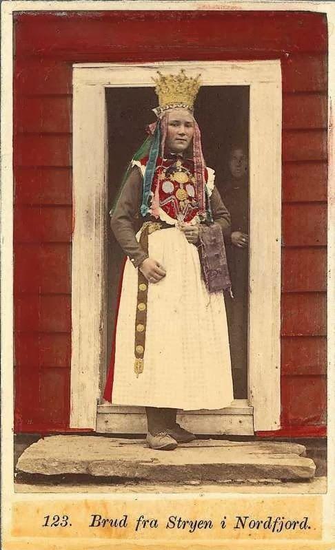 Bride from Stryen in Nordfjord