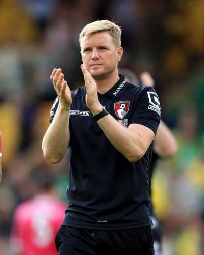 Eddie Howe had signed a new contract as Bournemouth manager in the week preceding the 5-1 defeat at the hands of league leaders Manchester City.