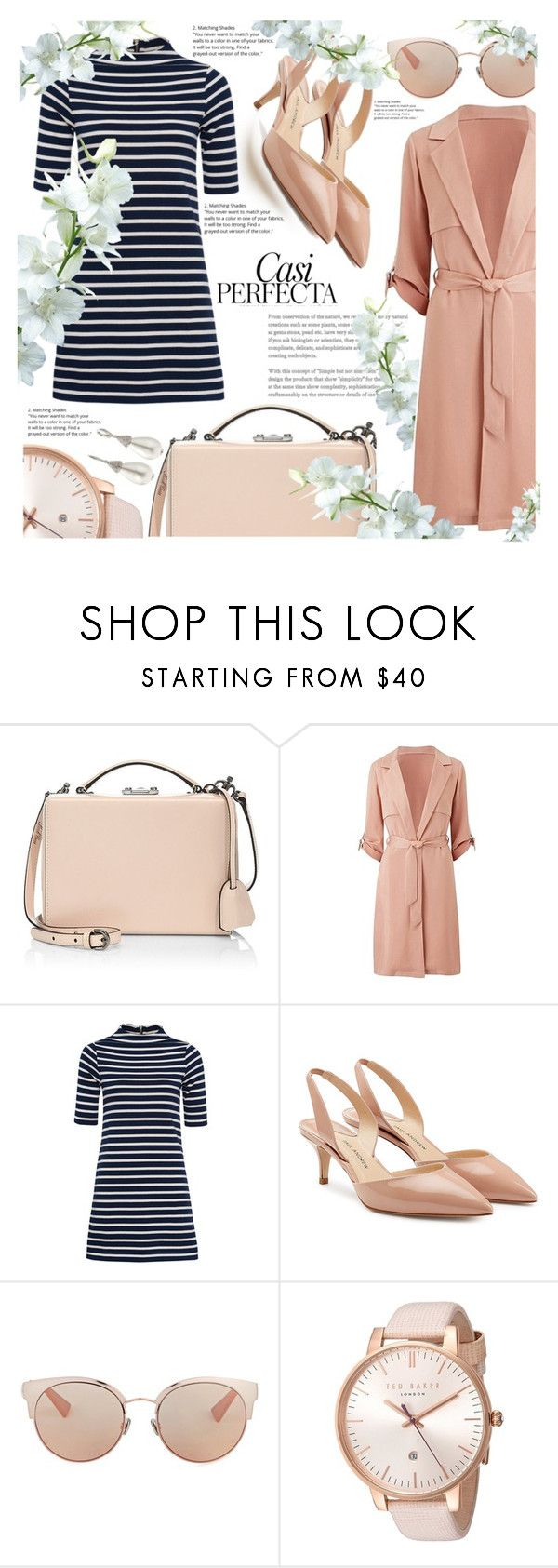 """#64"" by antrum ❤ liked on Polyvore featuring Mark Cross, French Connection, Paul Andrew, Christian Dior, Ted Baker, Oscar de la Renta and Whiteley"