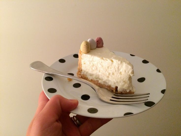 My mother-in-law's classic no bake lemon cheesecake.