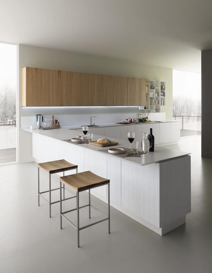 Oltre 25 fantastiche idee su cucine bianche moderne su pinterest cucina in marmo bianco - Tipologie di cucine ...
