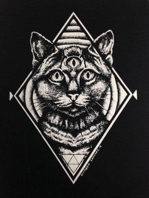 Hey, j'ai trouvé ce super article sur Etsy, chez https://www.etsy.com/fr/listing/220023986/third-eye-cat-back-patch-patches-punk