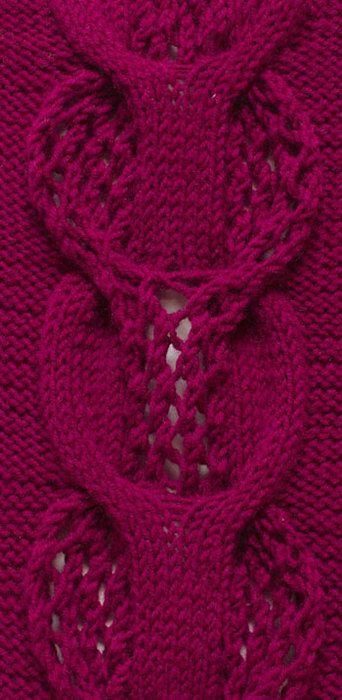 Model de tricotat Aran