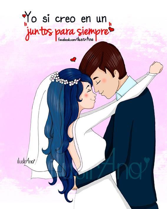 Amor Ilustrana Pareja Ideal Dibujo Ilustracion Love