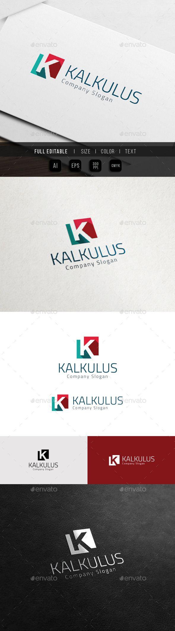 Corporate Brand - Marketing Finance - K Logo - Letters Logo Templates