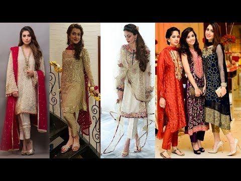 Pakistani Dresses Designs Awesome Fancy Dresses Latest Party Wear salwar...