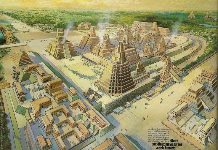 Tikal était la capitale d'un État conquérant  les plus puissants des anciens Mayas. Bien que l'architecture  du site remonte jusqu'a 400 BC., Tikal n'atteignit son apogée qu'au cours de la période  entre 200 et 900 de notre ère. À cette époque, la ville dominait politiquement, économiquement et militairement, une grande partie de la région maya, tout en interagissant avec d'autres régions de toute la Mésoamérique comme la grande métropole de Teotihuacan dans la lointaine vallée de Mexico