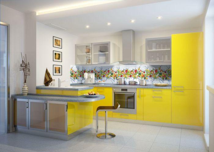 Pinterestu0027teki 25u0027den fazla en iyi Küchengestaltung fikri - küche streichen welche farbe
