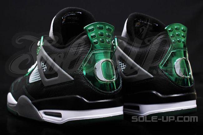 "Custom ""Oregon Ducks"" Air Jordan 4 Retros Ⓙ_⍣∙₩ѧŁҝ!₦ǥ∙⍣"
