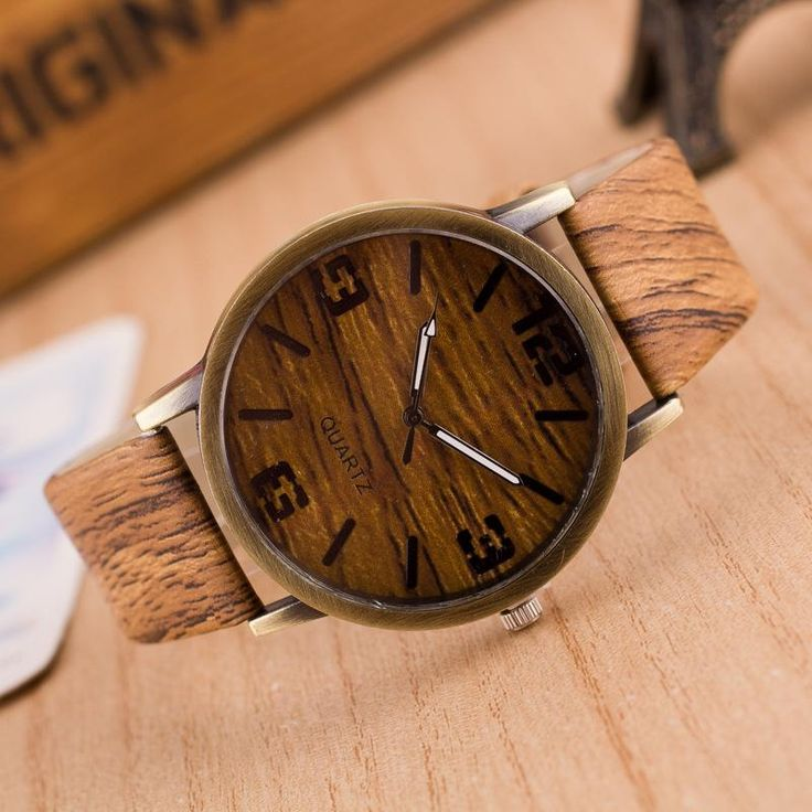 Wooden Mens Watches Automatic Luxury Women Unisex Imitation Wood Pu Leather Data Casual Quartz Wristwatch Fashion Casual Watch Watches Online Sale Watches For Sale Online From Zentop1, $2.68| Dhgate.Com