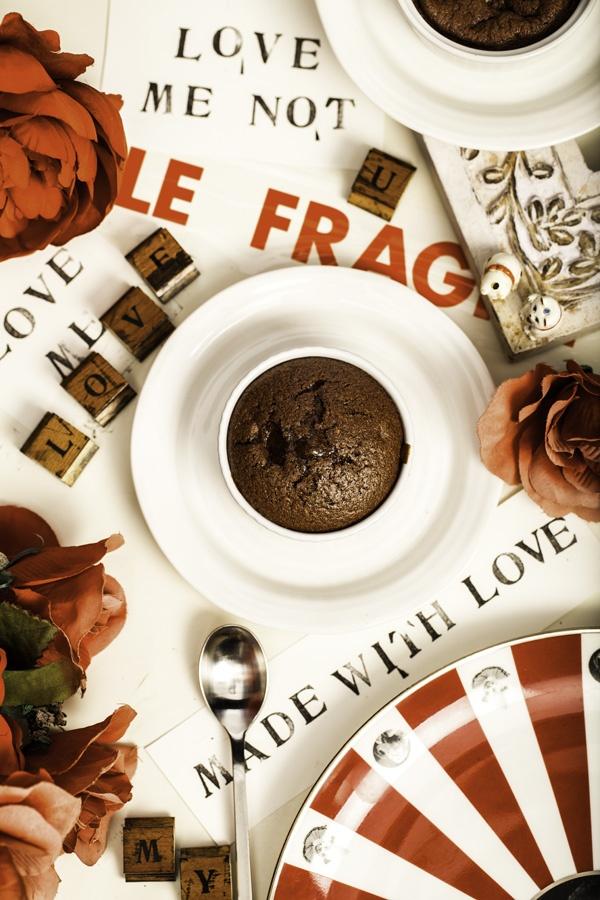 Chocolate molten pot