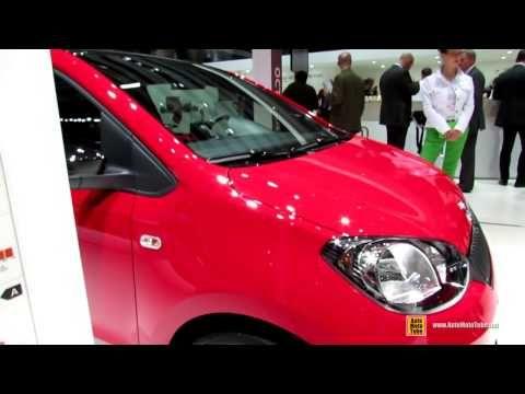2014 Skoda Citigo G-Tec Monte Carlo - Exterior and Interior Walkaround - 2014 Geneva Motor Show - YouTube