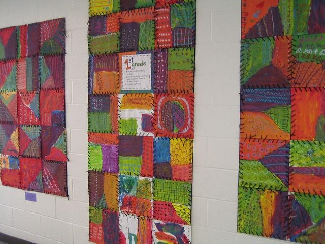 Quilting Class Ideas : 1000+ images about School Art Show Ideas on Pinterest