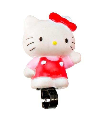 Hello Kitty Fahrradhupe - Hello Kitty hilft im Straßenverkehr.