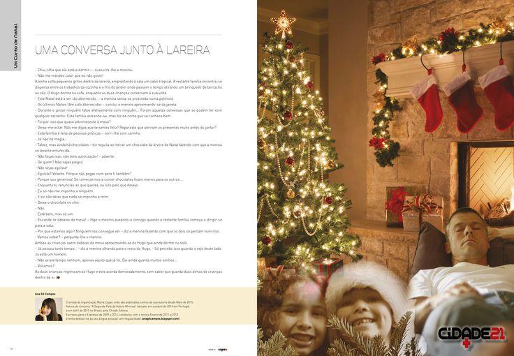 Um Conto de Natal por Ana Gil Campos.