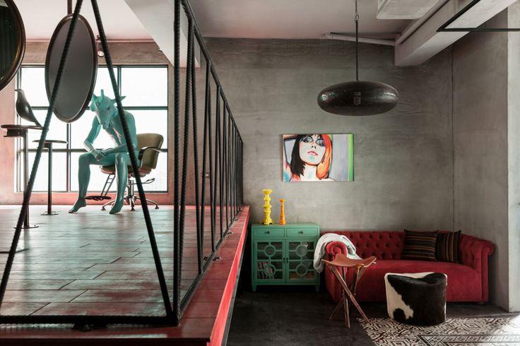 Salon de coiffure contemporain | MilK decoration