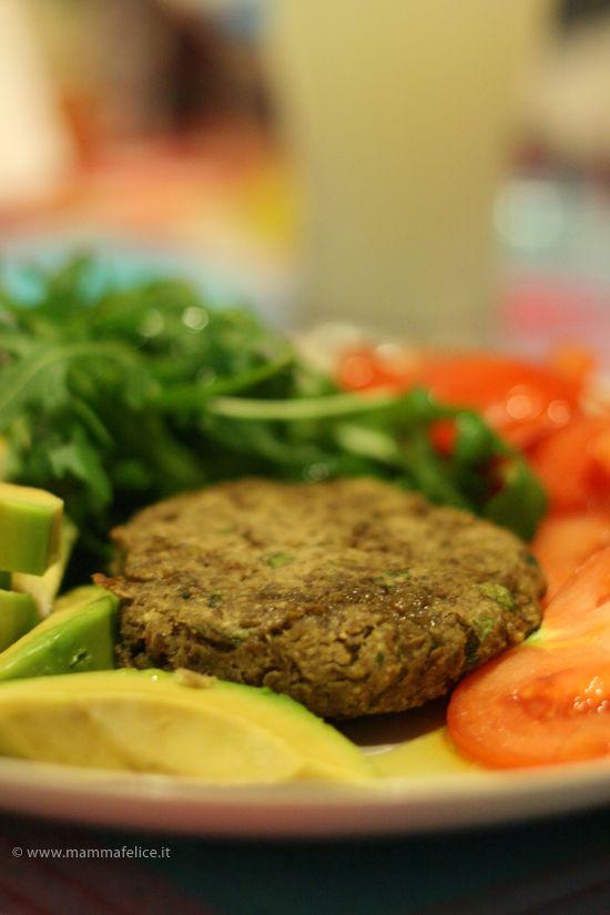 hamburger vegetariani a base di lenticchie ricetta fotografata passo passo con le istruzioni per cucinare