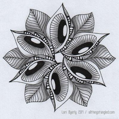 Day 33 arte de escuela secundaria mandalas circulares y for Disenos de mandalas