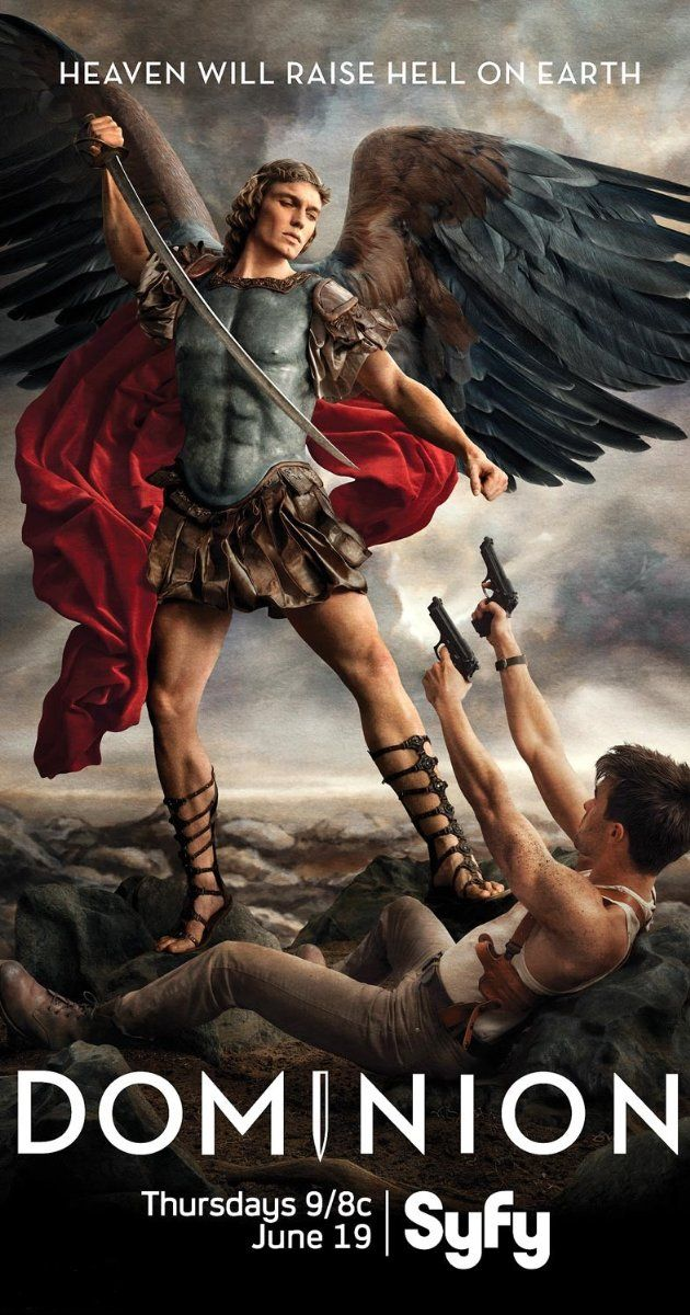 Dominion (TV Series 2014– )   takes off from the movie Legion
