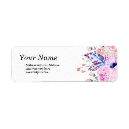 Best 25+ Return address stickers ideas on Pinterest Personalized - Return Address Label Template