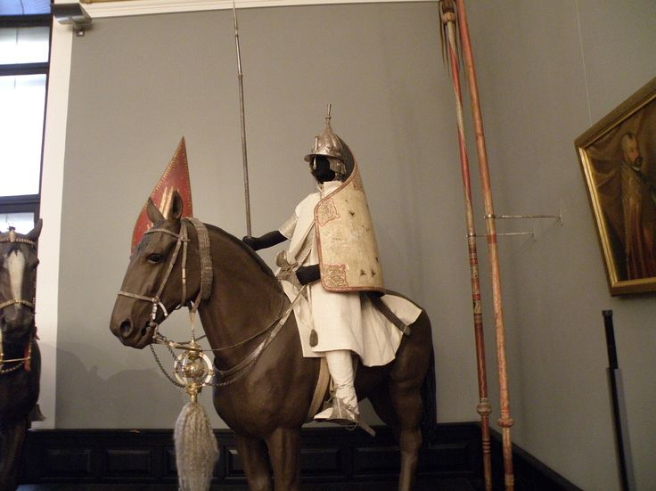 Ferdinand of Tyrol's 'White hussar' clothing and weaponry, late 16th century