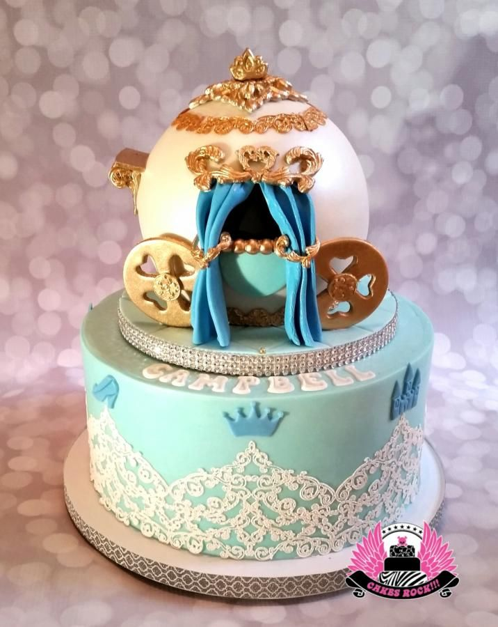 232 best Princess Carriage Cakes images on Pinterest Cinderella