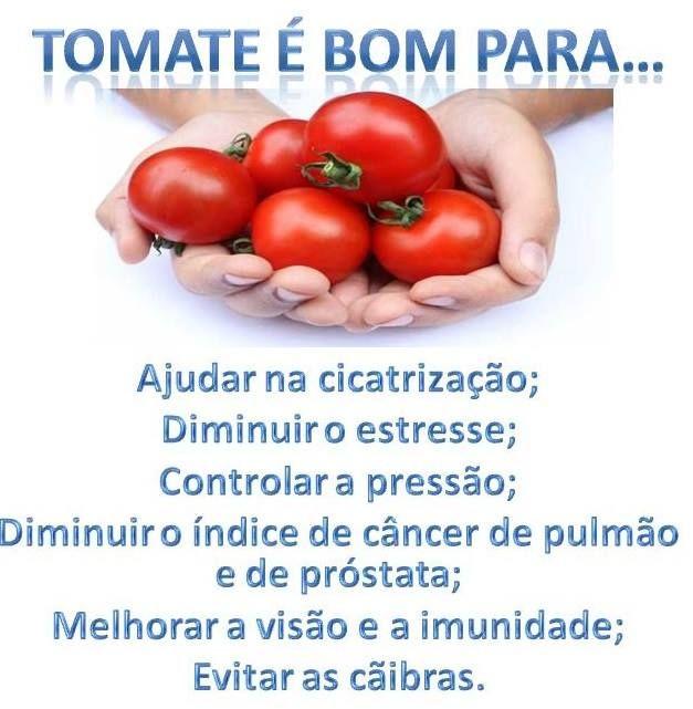 O #tomate é bom para...Sabia? Saiba como fazer mais coisas em http://www.comofazer.org