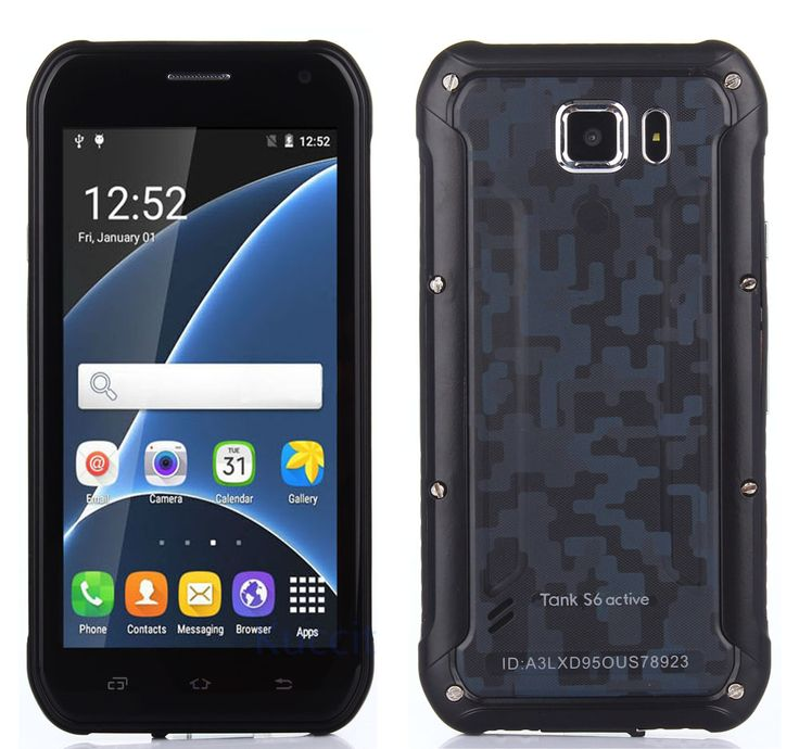 2016 Rugged Android Smartphone Waterproof Phone Shockproof Tank S6 MT6580 Quad Core 3G Dual SIM Mobile Phone Discovery V5 V8