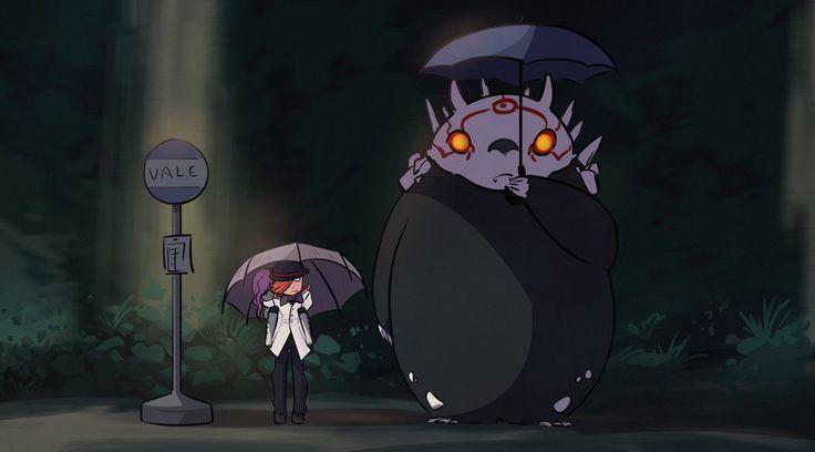 RWBY xover Totoro