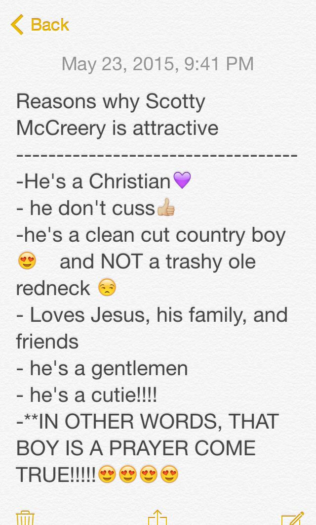 Things that I admire about Scotty McCreery!!!!