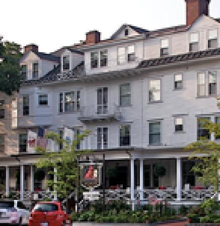 The Red Lion Inn -  Stockbridge, Massachusetts was opened in 1773 and has been operating continuously ever since. It was the center of Shays' Rebellion and has hosted five presidents. <3