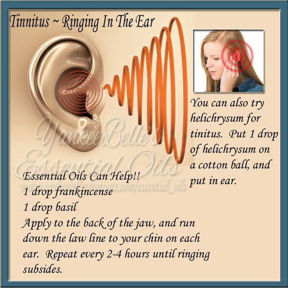 My husband often suffers from Tinnitus, and essential oils have helped him so much. He is a believer!! Disclaimer - Please Read: